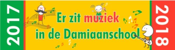 Er zit muziek in de Damiaanschool